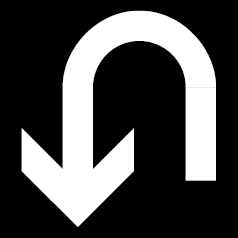 Reverse arrow