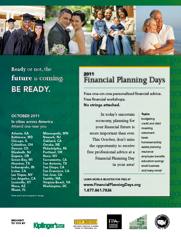 Financial Planning Days advertisement