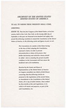 27th Amendment, page 1