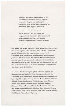 27th Amendment, page 2