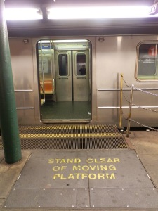 Gap filler, South Ferry subway station, Manhattan
