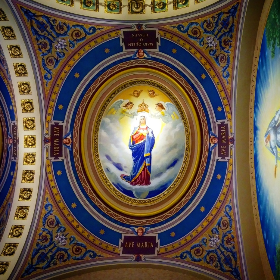 Marian mural, Co-Cathedral of St. Joseph, New York City