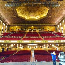 The original auditorium, which seats around 3,400, now serves as a sanctuary on Sundays and regularly hosts community and cultural events.