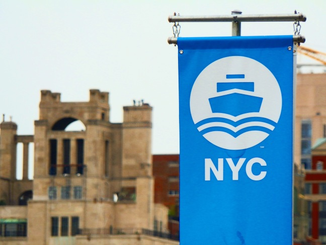 Banner, NYC Ferry Astoria landing
